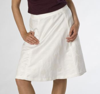 Aline Skirt with Gold Embroidery