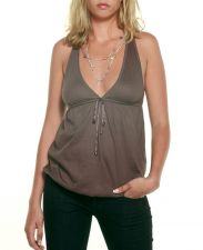 Racer Back Top - Taupe Brown - 25.00 €