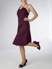 """Daisy"" Dress - Only I remaining - size 8 - Deep Purple - 29.00 €"