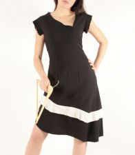 SilverMoon Dress (Only 1 in stock - Size 12) - Black - 89.00 €