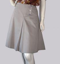 """Jordan"" A-Line Skirt - Marble Grey - 55.00€"