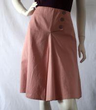 """Jordan"" A-Line Skirt - Apricot Peach - 55.00€"